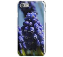 Purple bell flowers iPhone Case/Skin