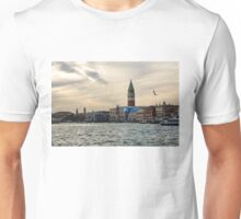 Impressions of Venice - Approaching St Marks on the Vaporetto Unisex T-Shirt