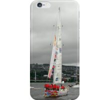 Derry Clipper Yacht - River Foyle Derry Ireland  iPhone Case/Skin