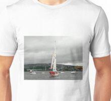 Derry Clipper Yacht - River Foyle Derry Ireland  Unisex T-Shirt