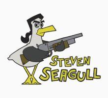 Steven Seagull One Piece - Short Sleeve