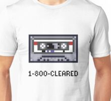 1-800-CLEARED Unisex T-Shirt