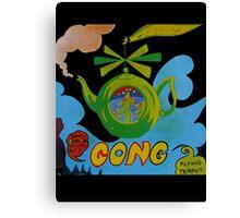 Gong T-Shirt Canvas Print