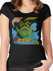 Gong T-Shirt Women's Fitted Scoop T-Shirt