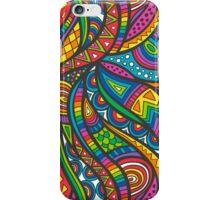 Wild Aztec Multi Coloured iPhone Case/Skin