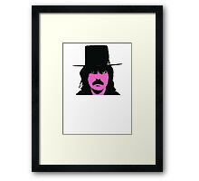 Captain Beefheart T-Shirt Framed Print