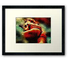 A Friend from Brazil 2 by Mary Bassett Framed Print