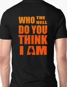 gurren lagan simon kamina who the hell do you think i am anime manga shirt T-Shirt