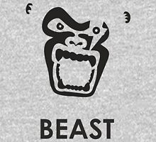 Instinct - Black Gorilla Beast Unisex T-Shirt