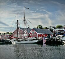 Lunenburg Harbour, NS by Scott Ruhs