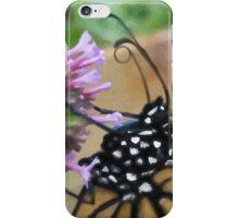 Monarch Butterfly - Breakfast II iPhone Case/Skin