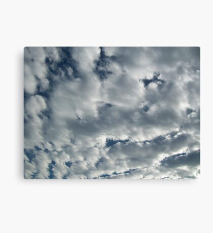 Look!  It's Clouds! Canvas Print