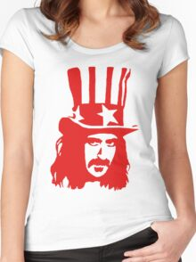 Frank Zappa For President Women's Fitted Scoop T-Shirt