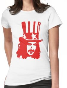 Frank Zappa For President Womens Fitted T-Shirt