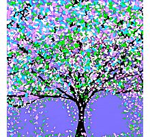 Tree Oil Painting Photographic Print