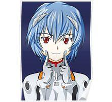 neon genesis evangelion rei ayanami anime manga shirt Poster