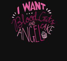 Blood, guts, angel cake Unisex T-Shirt