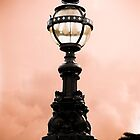 Lamp at sunset by DaleReynolds