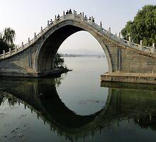 Summer Palace Scene, Beijing by Stuart Meachem