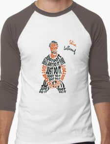 JUST DO IT - Shia LaBeouf or Men's Baseball ¾ T-Shirt