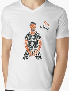 JUST DO IT - Shia LaBeouf or Mens V-Neck T-Shirt