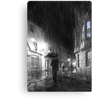 Umbrella Man Canvas Print