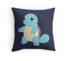 pokemon squirtle anime manga shirt Throw Pillow