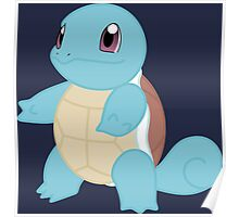 pokemon squirtle anime manga shirt Poster
