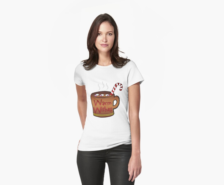 Mug Of Hot Chocolate Holiday  T-Shirt by Moonlake
