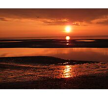 Sunset at Clevelyes Photographic Print