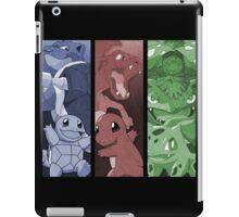 pokemon charmander squirtle bulbasaur blastoise charizard venusaur anime manga shirt iPad Case/Skin