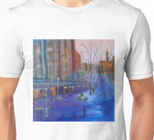 Swanston Street Melbourne VIC Australia - oil on canvas Unisex T-Shirt