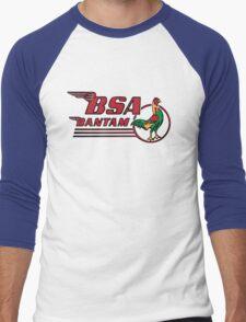 BSA Bantam Motorcycle Men's Baseball ¾ T-Shirt