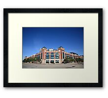 Texas Rangers Ballpark in Arlington Framed Print