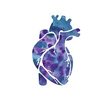 Heart of Ink Photographic Print
