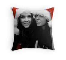 Festive Sister's 2 Throw Pillow