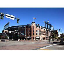 Coors Field - Colorado Rockies Photographic Print