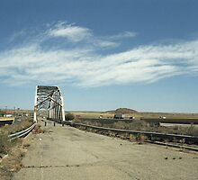 Route 66 Bridge - New Mexico by Frank Romeo