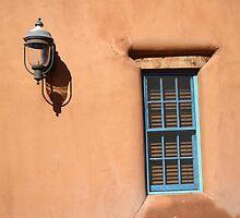 Santa Fe - Adobe Window and Light by Frank Romeo