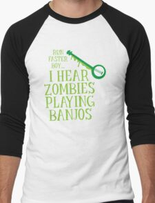RUN FASTER BOY, I hear zombies playing BANJOS T-Shirt