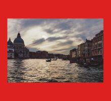 Impressions of Venice - the Grand Canal in Silver and Pearl Kids Clothes
