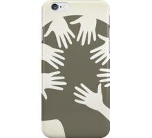 Head of hands iPhone Case/Skin