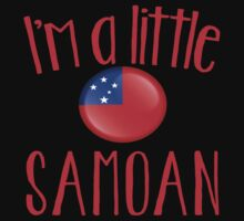 I'm a little SAMOAN with Samoa flag One Piece - Short Sleeve