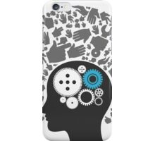 Head of hands2 iPhone Case/Skin