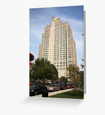 St. Louis Skyscraper Greeting Card