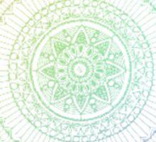 RAINBOW HENNA DESIGN 2 Sticker