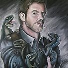 Chris Pratt- Jurassic World by Andrew Taylor