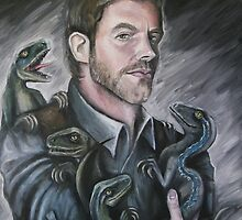 Chris Pratt- Jurassic World by Andrew Taylor