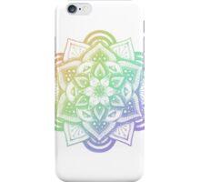 RAINBOW HENNA DESIGN 3 iPhone Case/Skin