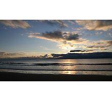 Sunset Over the Irish Sea Photographic Print